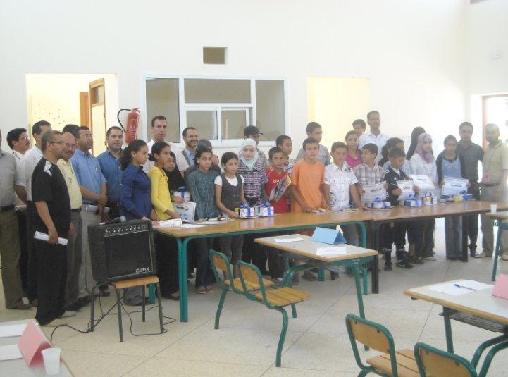 جمعية قدماء تلاميذ ثانوية إمزورن تنظم مسابقة ثقافية بين المدارس الإبتدائية