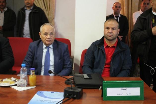 مداخلة سليمان حوليش في المجلس الاداري 12 للوكالة الحضرية بالناظور