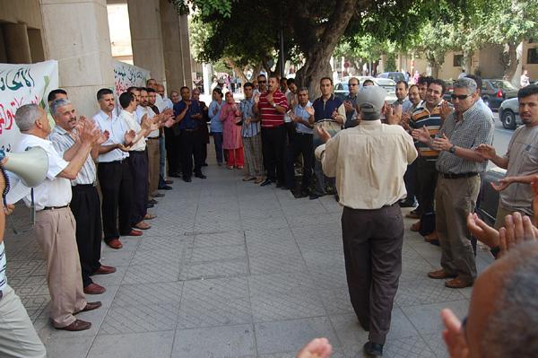 وفقات احتجاجية وإضراب لمهندسي الوظيفة العمومية