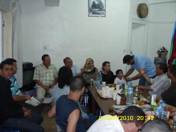 بوجمعة (تواتون) في ضيافة ماسينيسا بطنجة
