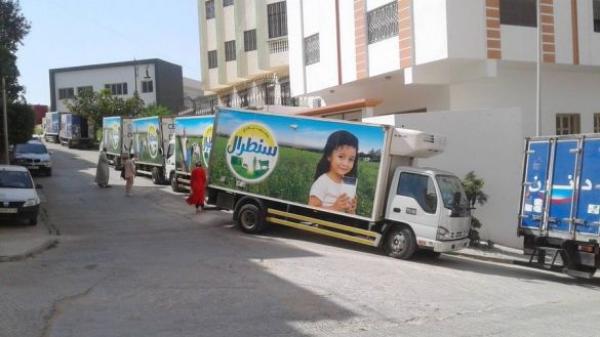 شخص يعتدي على سائق شاحنة تابعة لشركة حليب سنطرال ، وهذا هو مصيره