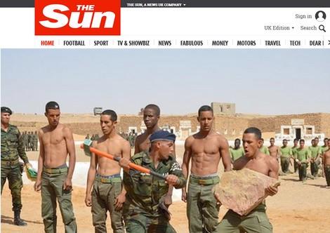 """صحيفة بريطانية: إيران توسع عملياتها خارج الشرق الأوسط بتدريب وتمويل """"البوليساريو"""""""