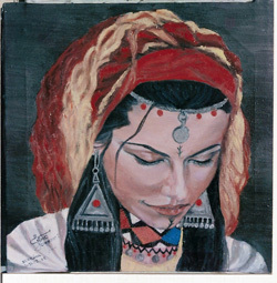 المعهد الملكي للثقافة الأمازيغية ينضم معرضا فنيا بالرباط