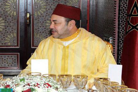 جلالة الملك يقيم مأدبة إفطار على شرف رئيس مفوضية الاتحاد الإفريقي