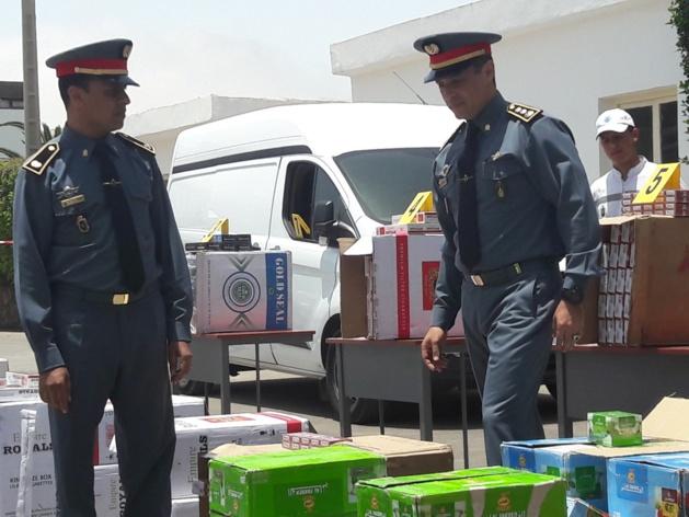 في عز رمضان الابرك الدرك الملكي بسلوان يحجز 700 قنينة خمر