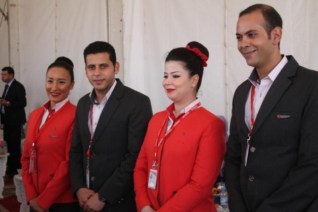 بالصور:إعطاء الانطلاقة لأول رحلة جوية بين الناظور والدار البيضاء بسعر 300 درهم في إطار اتفاقية شراكة بين الجهة وشركة العربية للطيران