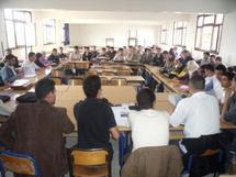 الفوج الأول من خريجي مسالك الدراسات الأمازيغية يستنكر عدم إدماجه في الوظيفة العمومية