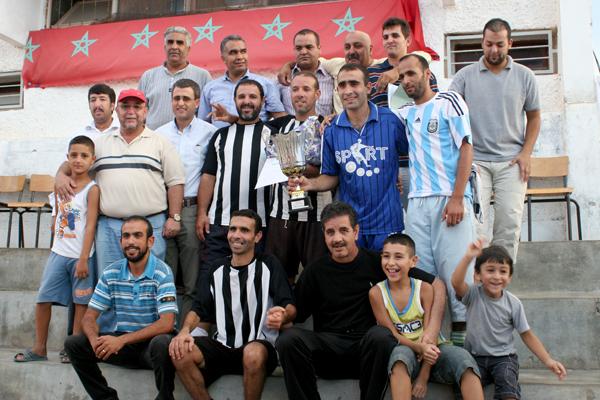 كرة القدم : فضاء الشباب للصحة يحرز دوري ريف كلوب
