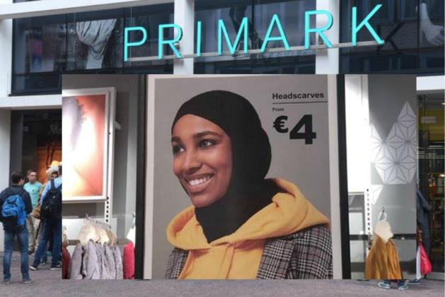 - في بريمارك أنتويرب ،لا يُسمح للعاملات بارتداء الحجاب، لكن عليهن بيعه للزبائن !