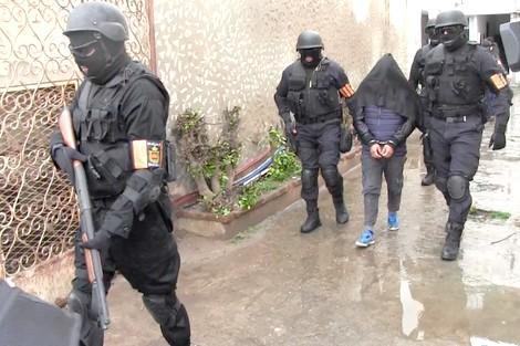 """عاجل..إعتقال أربعة """"دواعش"""" ينشطون بمدن الناطور و الدار البيضاء وطنجة  وتيزنيت"""