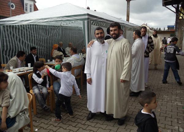 الجالية المغربية تحتفل بعيد الفطر بالمانيا