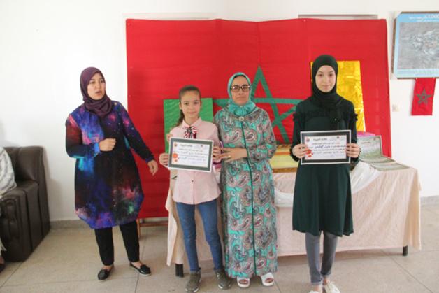في جو بهيج إعدادية الريف بالناظور تحتفي  بمتفوقيها دراسيا