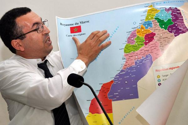 ندوة صحفية حول التقرير الأممي الصادر مؤخرا عن المغرب  من تنظيم جريدة العالم الأمازيغي بالرباط