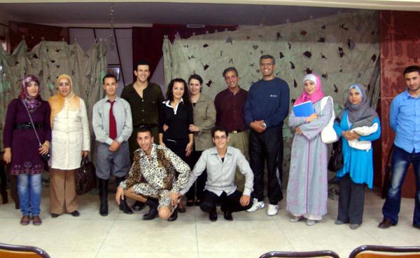 فرقة ثيفاوين تعمل على رسيخ الثقافة المسرحية بالريف