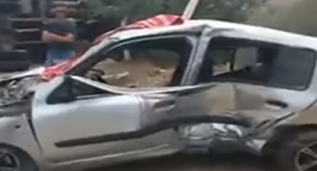 أول فيديو للحادثة المروعة التي هزت طريق السعيدية والتي راح ضحيتها 3 أشخاص