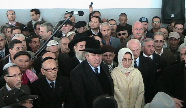 صور جنازة الراحل أبراهام ألبير السرفاتي