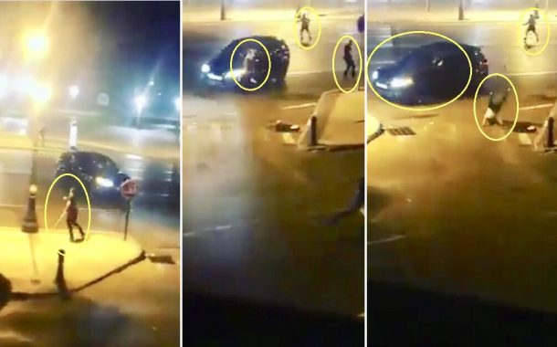 فيديو/ إنفلات أمني خطير بطنجة بين عصابة مسلحة يُحوِّل الكورنيش لحلبة أكشن !
