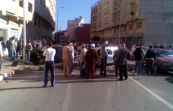 حاثة سير خطيرة بالناضور تسبب في وفاة سائق سيارة أجرة