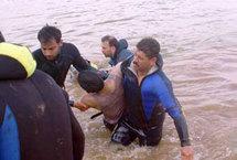 إنتشال بعض جثث من ضحايا وديان جماعة بني أحمد إمكزن بالحسيمة