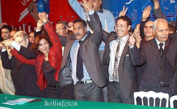 الناظور : عودة الوفد النقابي المشارك في أشغال المؤتمر الوطني العاشــر للإتحاد المغربي للشغل الذي انعقد بتاريخ 11 و 12 دجنبر 2010
