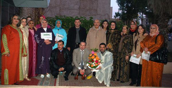 المركز الصحي الحضري مولاي إدريس بوجدة يحتفل بطاقمه