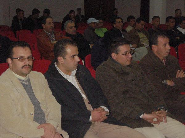 احتفاء فرع اتحاد كتاب المغرب بالناظور بالكاتب بوزيان موساوي
