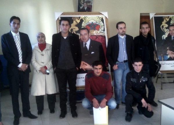 رئيس جمعية أصدقاء التلميذ يشرف بمدينة أكليم على تأسيس فرع الجمعية