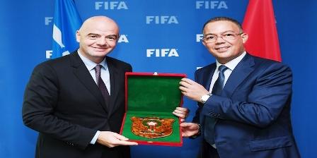 """""""الفيفا"""" تختار مدينة مراكش لاستضافة المؤتمر الدولي لتطوير منظومة كرة القدم"""