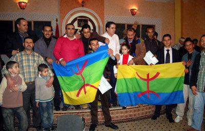 امازيغ طنجيس يشاركون جمعية يوبا احتفالها باسكاس اماينو  و يكرمون المناضل علال المساوي