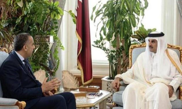 أمير قطر يستقبل عبد اللطيف الحموشي المدير العام للأمن الوطني