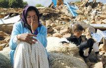 منكوبو تماسينت يخلدون ذكرى شهداء زلزال 24 فبراير 2004.