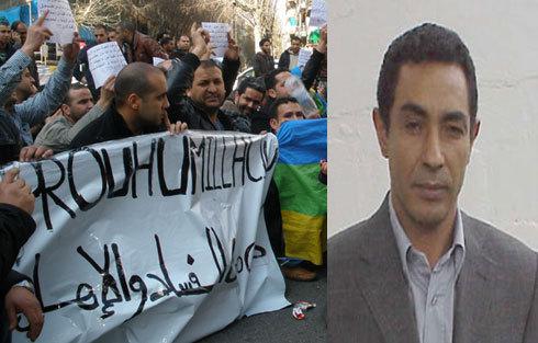"""القنصل المغربي في برشلونة ينعت المحتجين ب""""البوليساريو"""""""