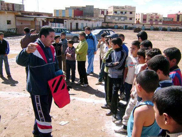 تظاهــرة رياضيــة في العدو الريفي بمدينة ابن الطيب