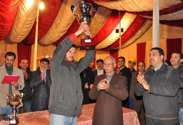 اختتام دوري الكرة الحديدية و توزيع الجوائز على الفائزين