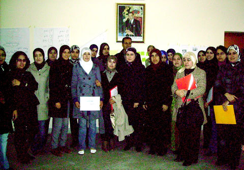 جمعية التضامن الأسري بالحسيمة تخلد اليوم العالمي للمرأة