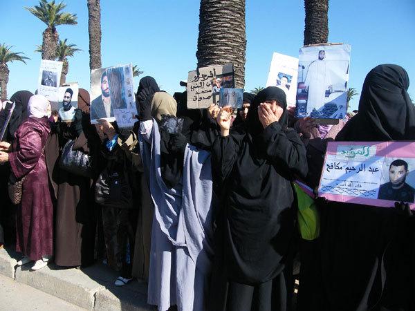 ثمانية آلاف متظاهر يستهلون احتجاج 20 مارس بالرباط
