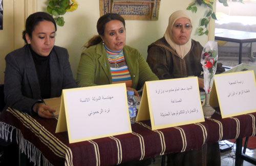 جمعية الأمل للتنمية النسائية بني يطفت  تنظم لقاء تواصليا باسنادة