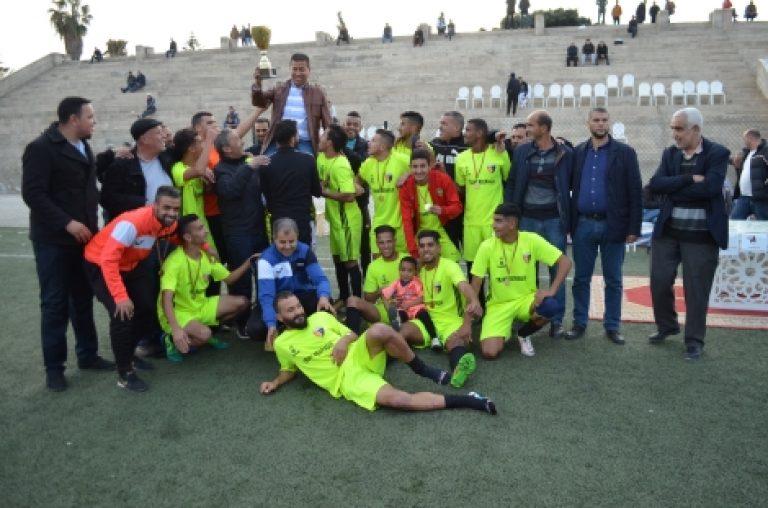 شاهد بالصور  : إسدال الستار على دوري المهرجان المتوسطي لكرة القدم بتتويج نهضة شباب سلوان