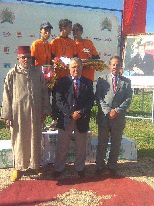 ثلاث ميداليات وطنية يحصدها نادي أسود الريف بالدار البيضاء