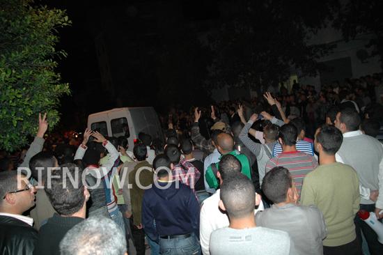 حركة 20 فبراير بالحسيمة تنظم مهرجانات احتفائية بالإقليم بمناسبة الافراج عن كافة معتقليها