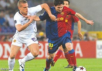 برشلونة يواجه مانشستر في نهائي الأحلام على استاد ويمبلي