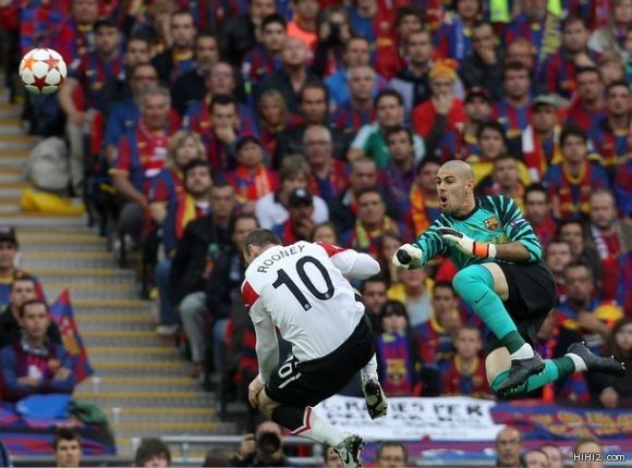 برشلونة يدمر مانشستر ويتوج بطلا لأوروبا