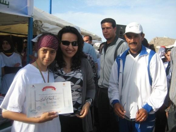 أزيد من 350 مشاركة في السباق النسوي الأول على الطريق ورياضة المشي بالحسيمة