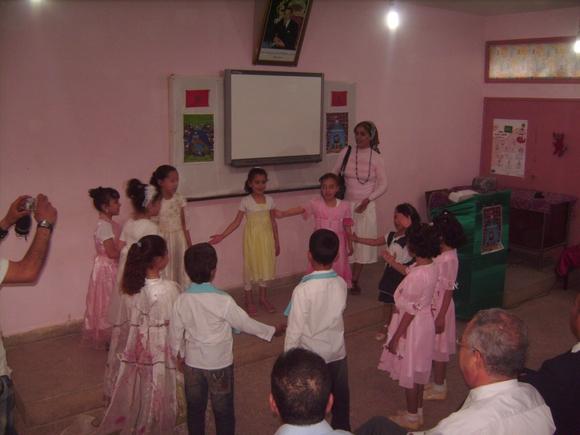 مدرسة ابن الخطيب ببن الطيب تحتفل باليوم العالمي للبيئة