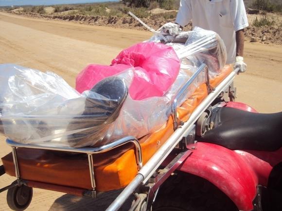انتشال جثة مهاجر افريقي من مياه بوقانة قرب ميناء بني انصار
