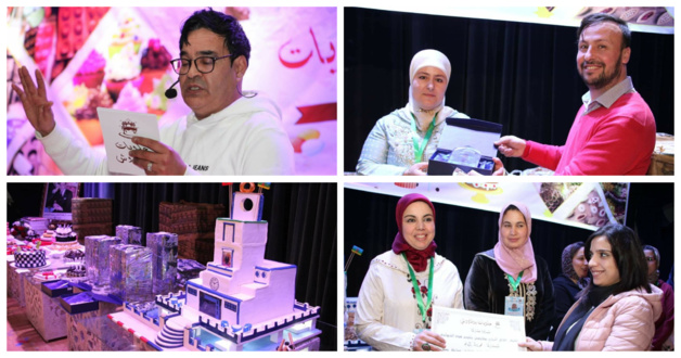 جمعية سمايل  وبوقادوش في أول مسابقة تهتم بفن إعداد الحلويات بالناظور