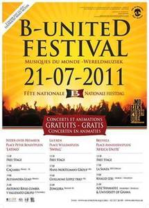 KHALID IZRI en Concert au B-united Festival | Free world concerts & animations
