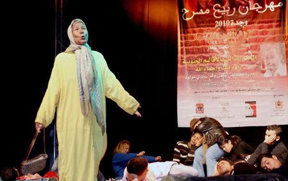 رفض تمويل الدورة العاشرة لمهرجان ربيع مسرح وجدة من قبل المبادرة الوطنية للتنمية البشرية