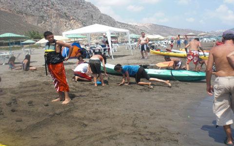 إختتام البطولة الإقليمية في رياضة الكاياك بالحسيمة