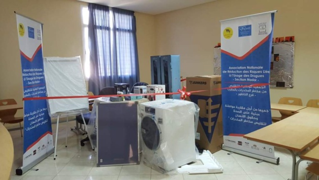 مجلس إقليم الناظور يتبرع بمبلغ 20000 درهم لمركز الإدمان